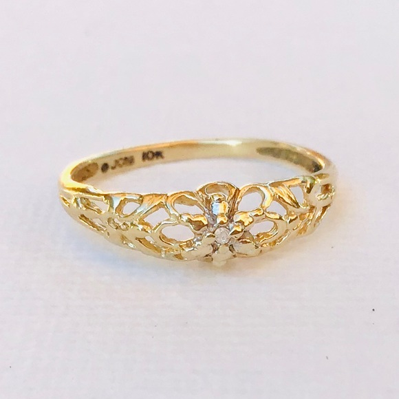 10k Solid Gold Ring